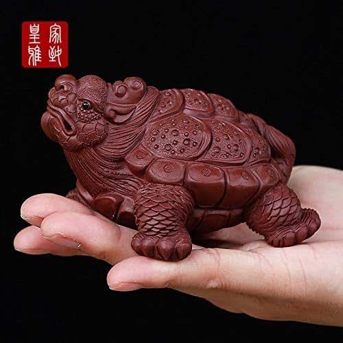 Tea Set, Tea Play, Tea pet, Ornament, Product, Creativity, Cultivation and Recruitment, Yixing, Zisha, Personality, Dragon Turtle, Handmade, Financial Resource Animal
