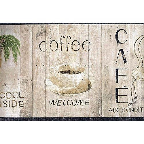 Welcome Coffee Shop Wallpaper Border 2259 TG