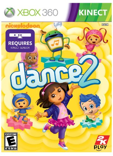 Nickelodeon Dance 2 - Xbox 360 (Best Xbox 360 Games For Toddlers)