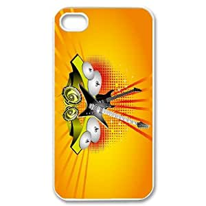 Iphone 4 4S Cell Phone Cases Clips HolstersDesign with Music Note and Piano Keyboard Classical Music Sheet Keyboard Custom made niy-hc361885 hjbrhga1544