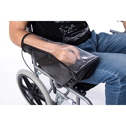 (Wheelchair Joystick Cover, Waterproof Wheelchair Power Protector, Mobility Scooter Controller Cover)