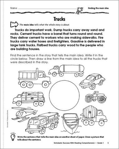 Amazon.com: Scholastic Success With: Reading Comprehension ...