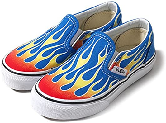Ufey Flame Pattern Sneakers Shoes Shoes