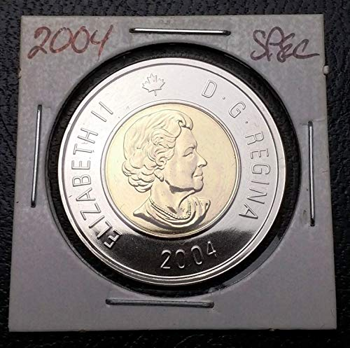 Unbranded 2004 Canada $2 Two Dollar Specimen TOONIE Great Condition
