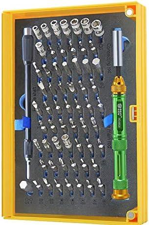 Generic BST 磁気 ビット ドライバ キット63 イン1 プロ 修理 ツール キット 多機能 精密ドライバー セット iPhone Mac ラップトップ 対応