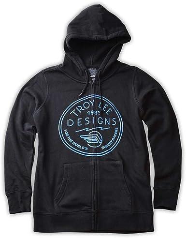 Troy Lee Designs Womens Etched Hoody Zip Sweatshirt