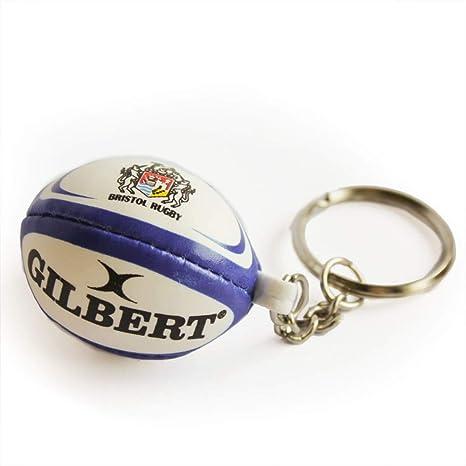 Gilbert Bristol palla da rugby portachiavi  Amazon.it  Sport e tempo ... 5c5a5b31599a