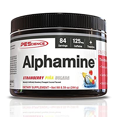 PEScience Alphamine Versatile Thermogenic Energy Powder