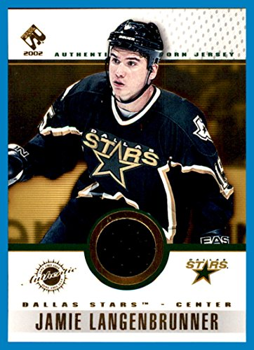 2001-02 Private Stock Game Gear GAME USED JERSEY #36 Jamie Langenbrunner DALLAS STARS