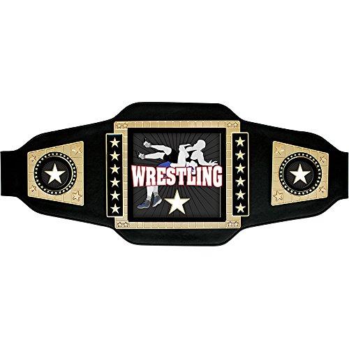 Supreme Square Wrestling Belt by Crown Awards