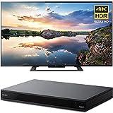 Sony 60-Inch 4K Ultra HD Smart LED TV 2017 Model (KD60X690E) with Sony 4K Ultra HD Smart Blu-Ray Player with Hi Res 2017 Model