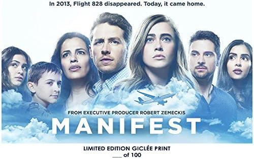 amazon com lost posters rare poster robert zemeckis manifest nbc tv