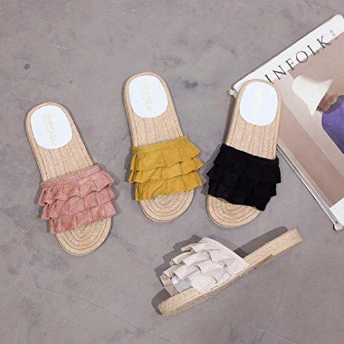 Sandali Antiscivolo Puro Sportivi Color Giallo Sandali Mare Spiaggia Slippers Estate Sandali Purissimo Estivi Arizona Piatti Classic Ciabatte Donna Styledresser da Fiore Colore da Scarpe zwSn7vSqIx