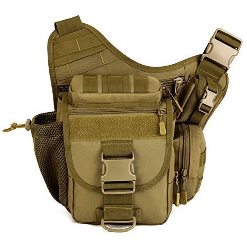 Aseun Fashion Nylon Multi-functional Tactical SLR Camera Bag Versipack Backpack Bag Waterproof Military Bags Messenger Molle Bag