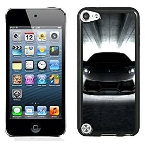 Lovely and Durable Cell Phone Case Design with Lamborghini Murcielago Front Shot iPod Touch 5 Wallpaper