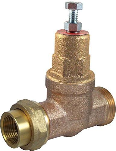 Cash Acme 24463-0045 Pressure Regulator, EB45-U Single Threaded Union Metal Top, 3/4' 3/4