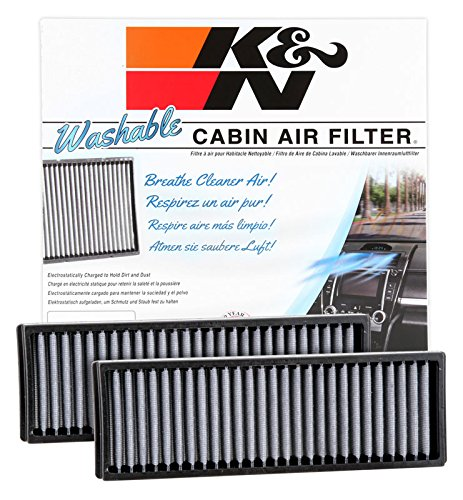K&N VF3006 Washable & Reusable Cabin Air Filter Cleans and Freshens Incoming Air for your Acura, Honda