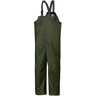 Helly Hansen Workwear Men's Mandal Durable Waterproof Rain Pant Bib Overalls for Hunting and Fishing