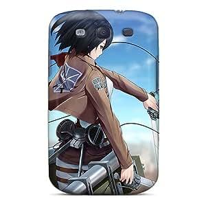 Galaxy High Quality Tpu Case/ Mikasa Ackerman IgJSUlh5269AMqoy Case Cover For Galaxy S3