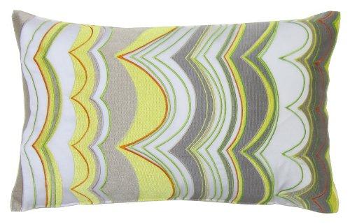 Trina Turk Down-Filled Pillow, Ikat Wave, 12