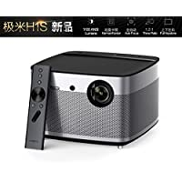 Home Theater Projector, XGIMI H1S Auto Focus Native 1080p HD Projector Android 3D Smart Projector TV with Harman/Kardon Customized Subwoofer Stereo Build-in LiveTV Services
