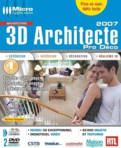 3D Architecte Pro Déco 2007