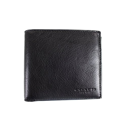 Coach Double Billfold Leather F75084