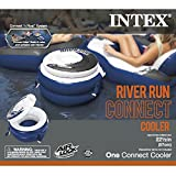 Intex River Run Connect Cooler, Inflatable Floating Cooler, 22.5