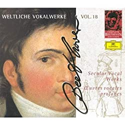 Complete Beethoven Edition, Vol. 18: Secular Vocal Works