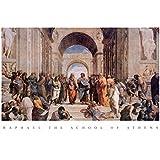 (24x36) Raphael School Of Athens Art Print Poster