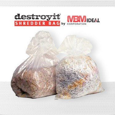 MBM Destroyit Shredder Bags Size #918 (100 ct) by Whitaker Brothers