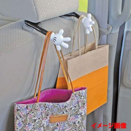 DISNEY Mickey Mouse Seats Handbag Hook Bag Hanger Holder Car Accessory