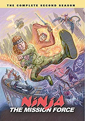 Amazon.com: Ninja the Mission Force: The Complete Second ...