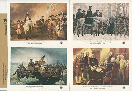 United States, Postage Stamp, 1686-1689 Mint NH Sheets & Folder, 1976, JFZ
