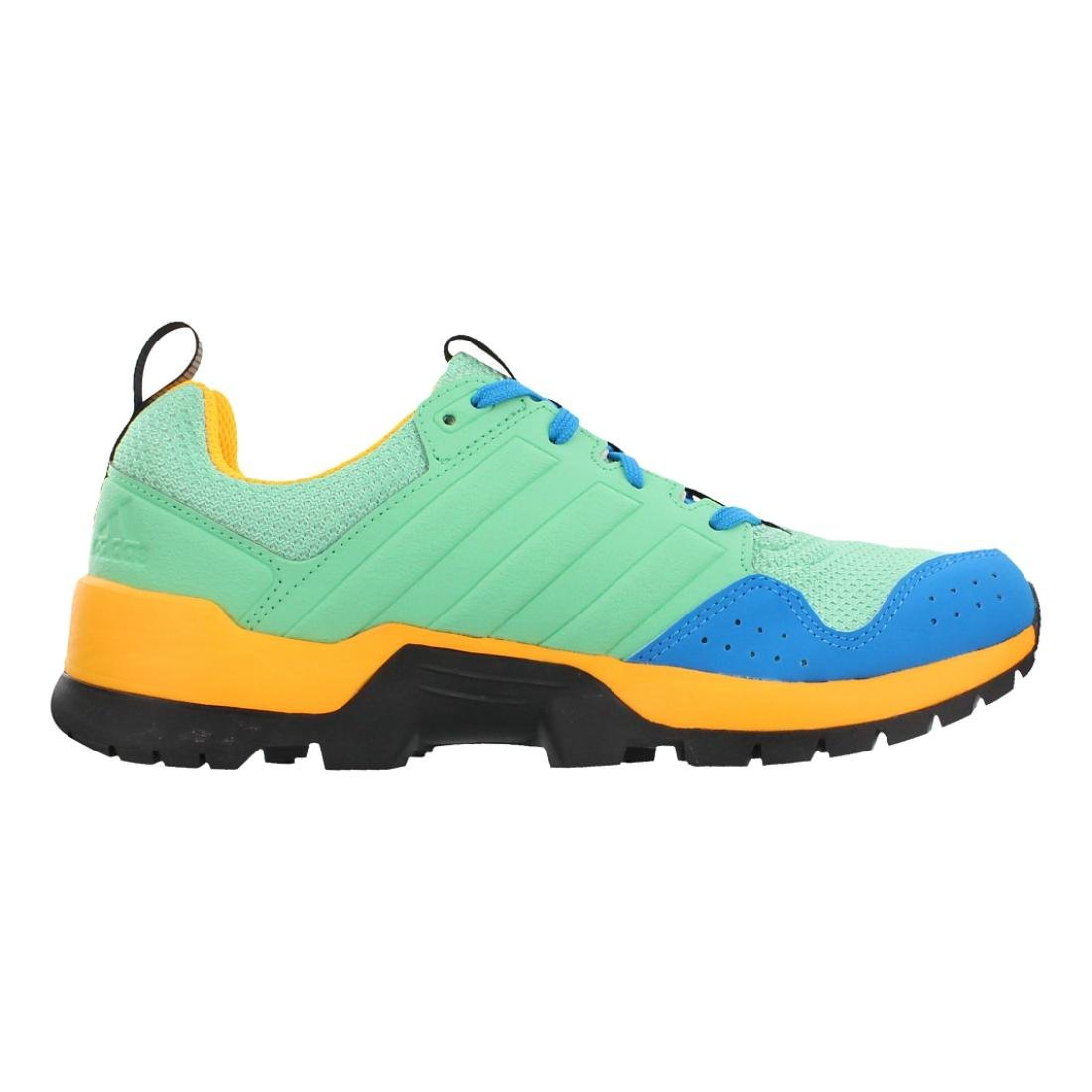adidas outdoor Women's Gsg9 Trail Running Shoe B0116E7S6M 5.5 B(M) US|Green Glow/Black/Solar Gold