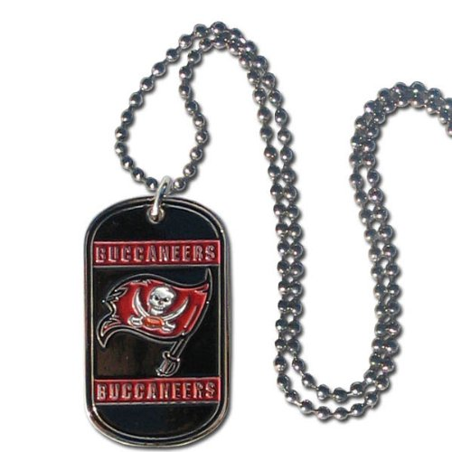 NFL Tampa Bay Buccaneers Dog Tag Necklace