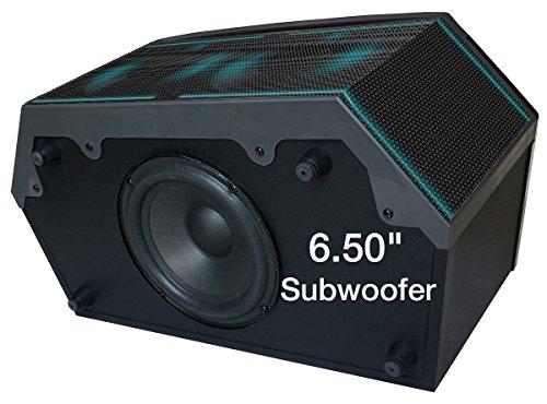 Boytone BT-64B, Wireless Bluetooth Premium HiFi Stereo, Home Theater Speaker 100w, Powerful Super Bass, Clear Sound, 6.5'' Subwoofer, 3''X4 Midrange/Tweeter, FM Radio, Disco light, USB/SD/MP3 by Boytone (Image #2)