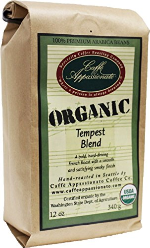 Caffe Appassionato Organic Tempest 12 Ounce product image