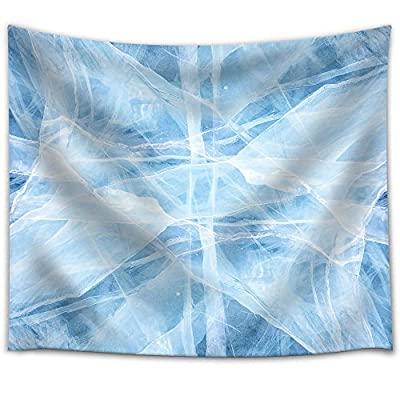 Texture of Ice of Baikal Lake in Siberia Fabric Wall, Premium Product, Amazing Design