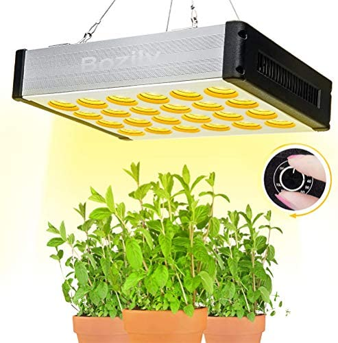 1000W Led Grow Light, Bozily Plant Grow Lamps Full Spectrum, Hydroponic Led Growing Lamps ,Hang led growing light with Hanging Kit Daisy Chain 168 leds for Indoor Plants Greenhouse Veg Bloom