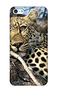 Graceyou Perfect Tpu Case For ipod touch4/ Anti-scratch Protector Case (Animal Leopard)