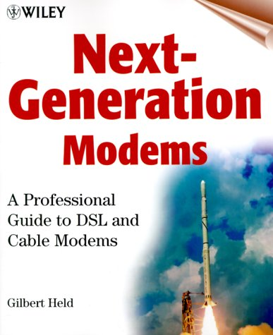 Price comparison product image Next-Generation Modems: A Professional Guide to DSL and Cable Modems