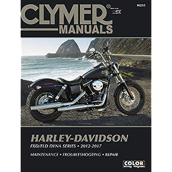 Clymer Harley Davidson DYNA Series 12-15 Manual