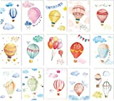 30pcs/packed hot air balloon pattern design