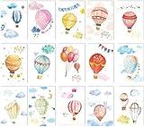 30pcs/Packed hot air Balloon Pattern Design