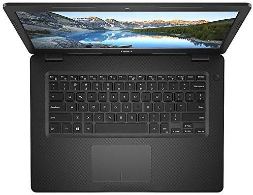 """Dell Inspiron 14 14"""" Laptop Computer_ Intel Pentium Gold 5405U 2.3GHz_ 4GB DDR4 RAM_ 128GB PCIe SSD_ Bluetooth 4.1_ USB 3.1_ Black_ Windows 10 Home in S_ Online Class Ready_ Webcam_ BROAGE Mouse Pad"""