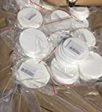 "12 Synthetic Filter Discs 90mm for a Buchner Funnel and Cut Them fit""Wide Mouth"" Size Used for Mushroom Cultivation"