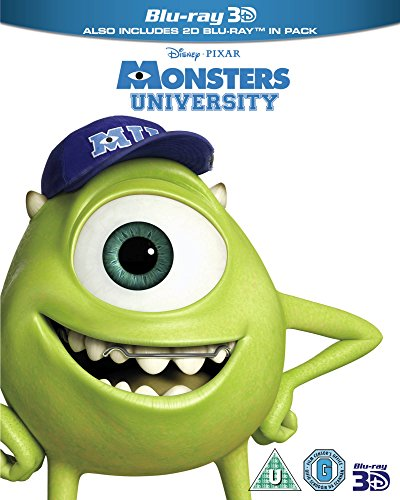 Monsters University [Blu-ray 3D] [Region Free] (Limited Edition)