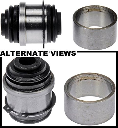 Left Upper Rear Part (APDTY 016616 Suspension Knuckle Bushing Rear Upper Left or Right w/Press Tool Fits Buick Rendezvous Buick Terraza Chevrolet Uplander Chevy Venture Olds Silhouette Pontiac Aztec Montana Saturn Relay (Sold Individually; Replaces 18060684 or 18060685))
