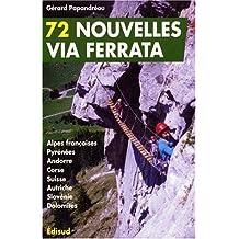 Nouvelles via ferrata des Alpes